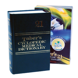 Tabers 21st Edition Cyclopedic Medical Dictionary