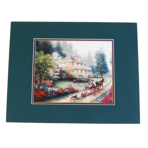 Thomas Kinkade Matted Art Print