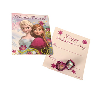 Frozen Valentine Card Sets
