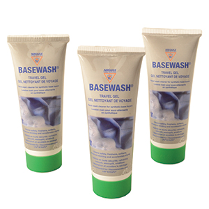 Nikwax Basewash Travel Gel Tubes