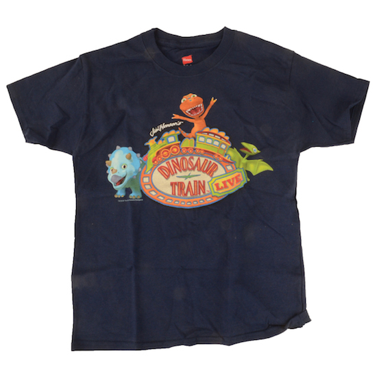 Dinosaur Train Live Navy Tee Shirt