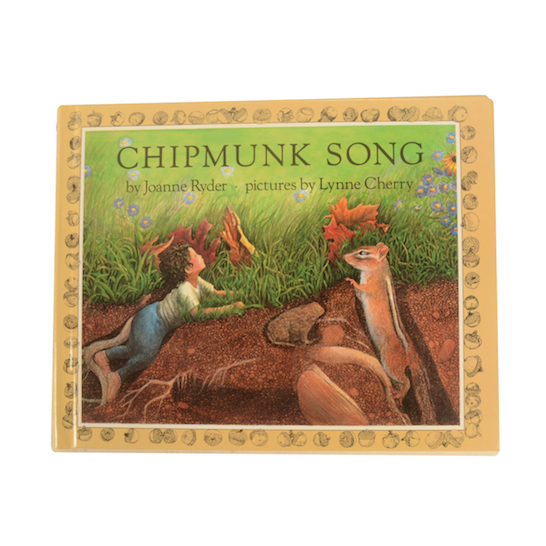 Chipmunk Song Story Book